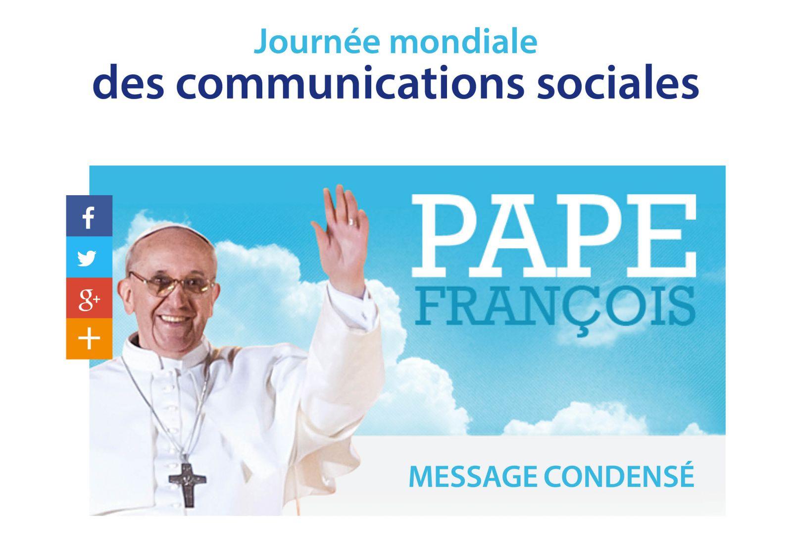 """Résultat de recherche d'images pour """"journée mondiale pour une communication sociale"""""""